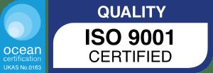 ocean certification ISO9001