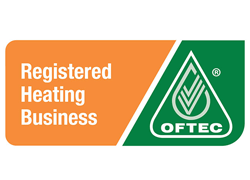 OFTEC Registered Heating logo