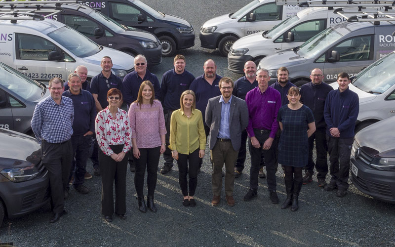 MEET THE ROBINSONS FACILITIES SERVICES TEAM